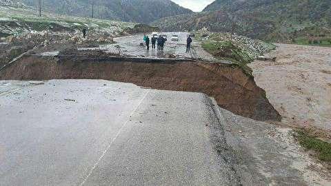فیلمی دردناک از سیلاب جاری شده در شیراز