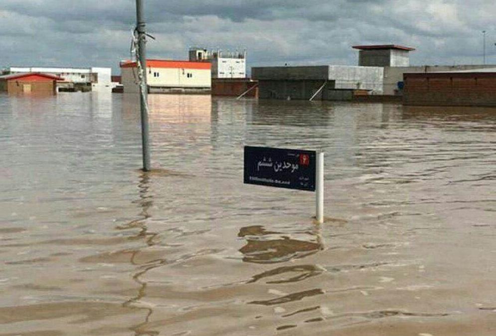 سد آققلا، عامل تخریبهای سیل این شهر