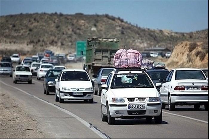 پرترددترین جادههای کشور طی ۲۴ ساعت اخیر