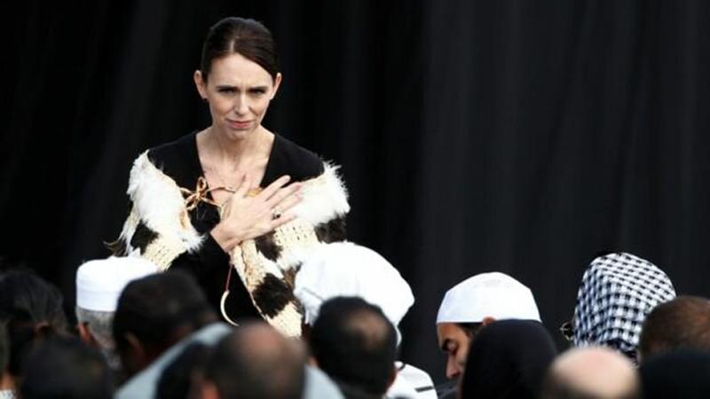 مراسم یادبود ملی قربانیان حمله به دو مسجد در نیوزیلند
