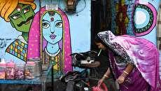 (تصاویر) متحول شدن محل زندگی زاغه نشینها با نقاشی