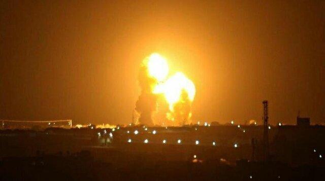 (ویدئو) لحظه حمله موشکی سپاه به پایگاه آمریکا