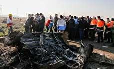 (تصاویر) سقوط هواپیمای اوکراینی حوالی فرودگاه امام خمینی(ره)