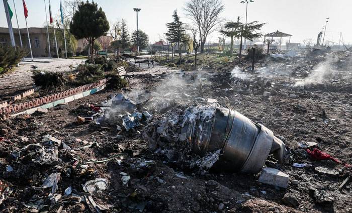 ستادکل نیروهای مسلح: سقوط هواپیمای مسافربری ناشی از  شلیک موشک و خطای انسانی بود