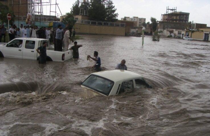 فریاد زیرآب؛ سیستان و بلوچستان در محاصره سیلاب
