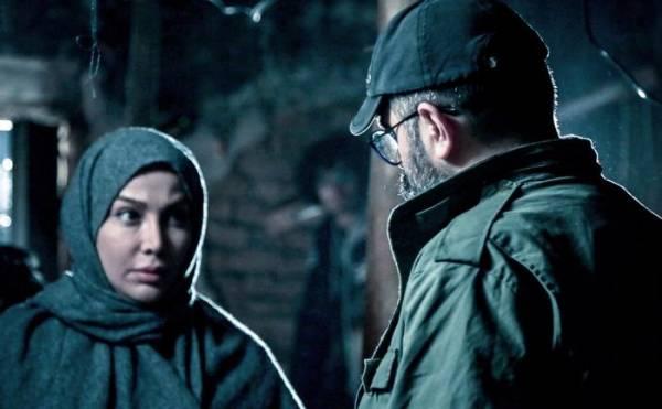 (عکس) همسر محسن چاوشی و بازی در نقش یک ضدانقلاب