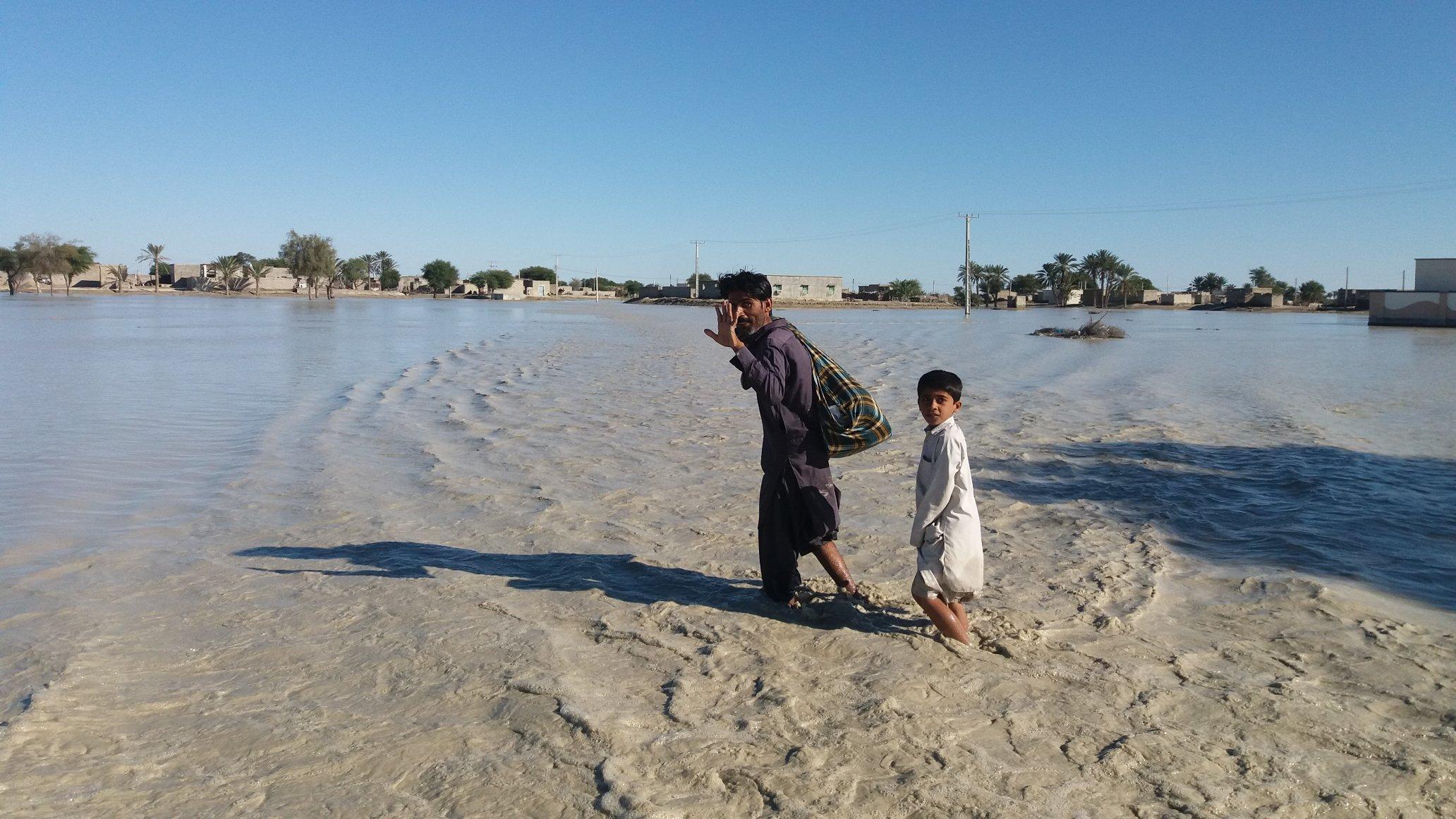 آخرین وضعیت امدادرسانی در مناطق سیل زده سیستان و بلوچستان//تکمیلی