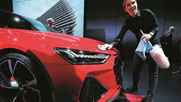 (تصاویر) نمایشگاه اتومبیل بروکسل