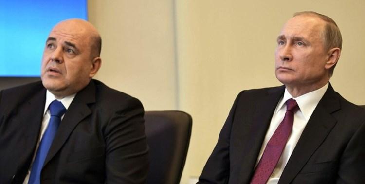 پوتین نخستوزیر روسیه را منصوب کرد