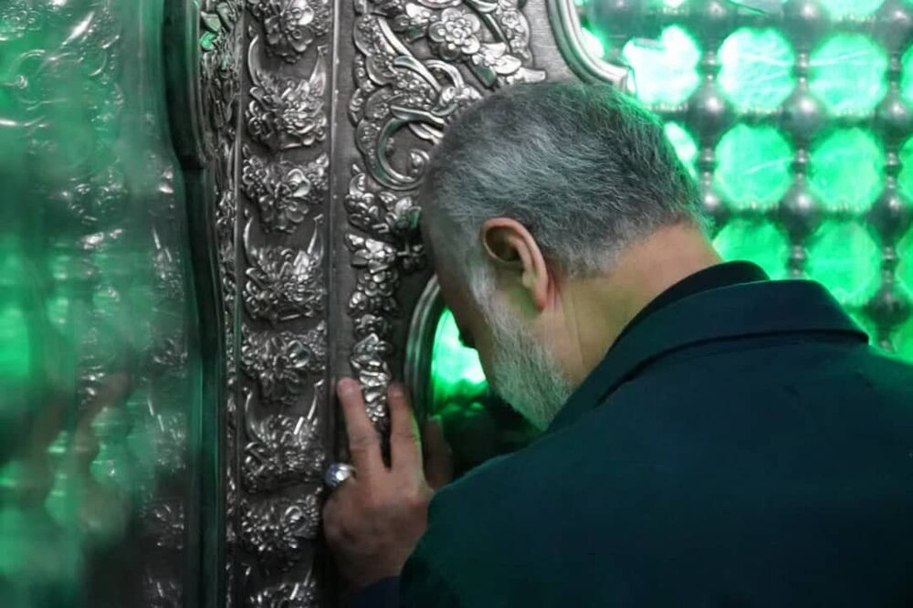 تصویری دیده نشده از سردار شهید سلیمانی