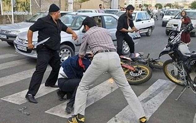 درگیری هولناک اشرار قمه به دست در شهریار