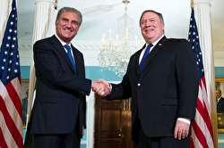 وزیر امور خارجه پاکستان در دیدار با پمپئو: ایران خواهان کاهش تنشهاست