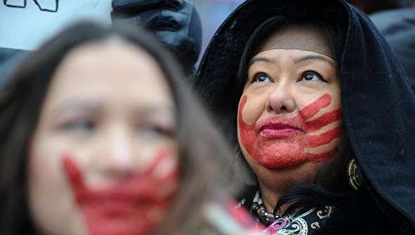 (تصاویر) تظاهرات زنان آمریکایی علیه ترامپ