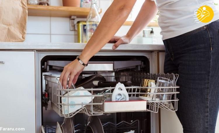 چگونه میتوانید ماشین ظرفشویی خود را تمیز کنید