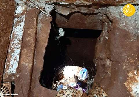 (تصاویر) فرار ۷۵ زندانی با حفر تونل