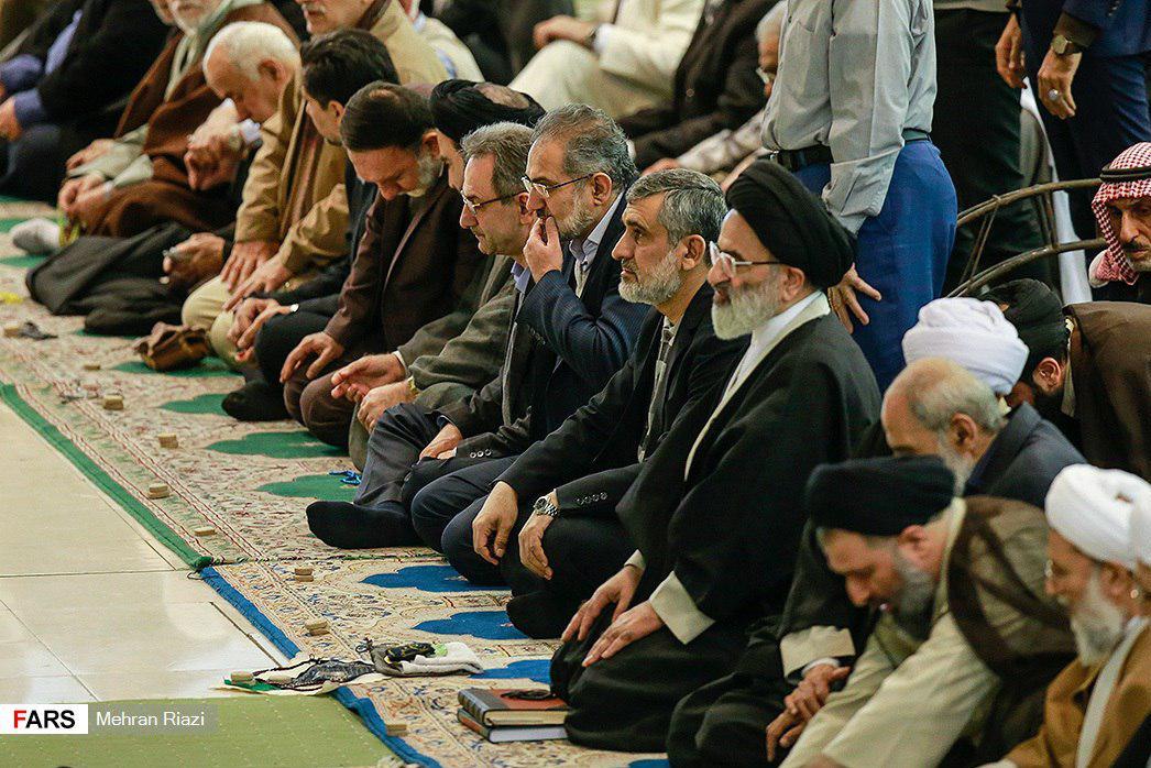 (تصاویر) حضور سردار حاجیزاده در نماز جمعه تهران