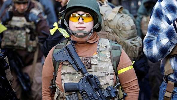 (تصاویر) تجمع بزرگ حمایت از حق مالکیت و حمل اسلحه