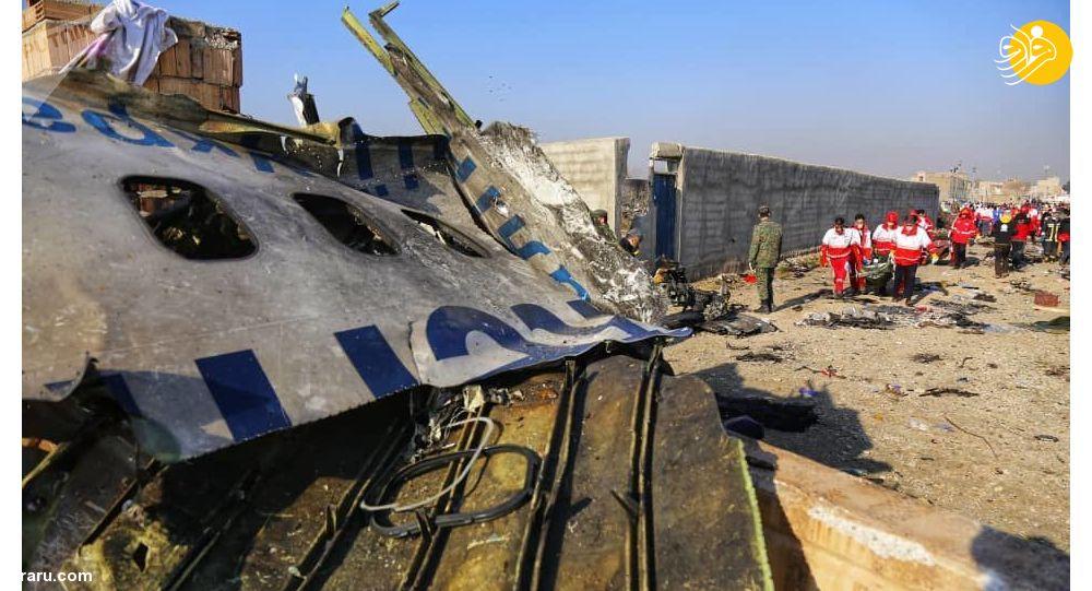 گزارش هولناک از لحظات اولیه سقوط هواپیما