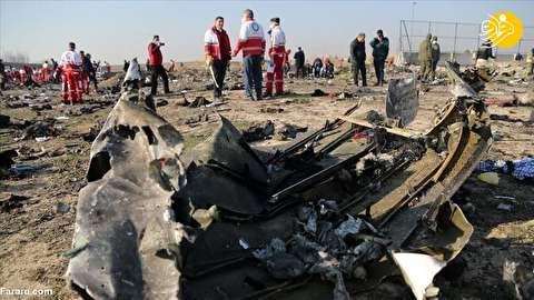 گزارش هولناک از لحظات اولیه سقوط هواپیما؛ همه جا روی زمین جنازه بود و خون!