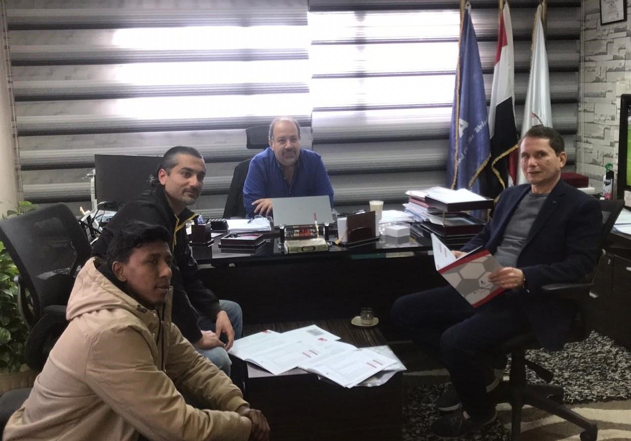(عکس) جذب بازیکن ۷۵ ساله در لیگ مصر!