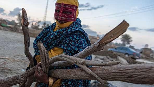 تصاویر رسانه خارجی از سیل در سیستان و بلوچستان