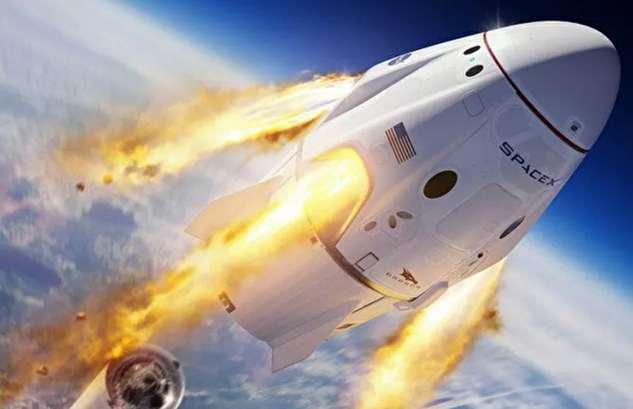 آزمایش موفق سامانه لغو پرتاب کپسول دراگون