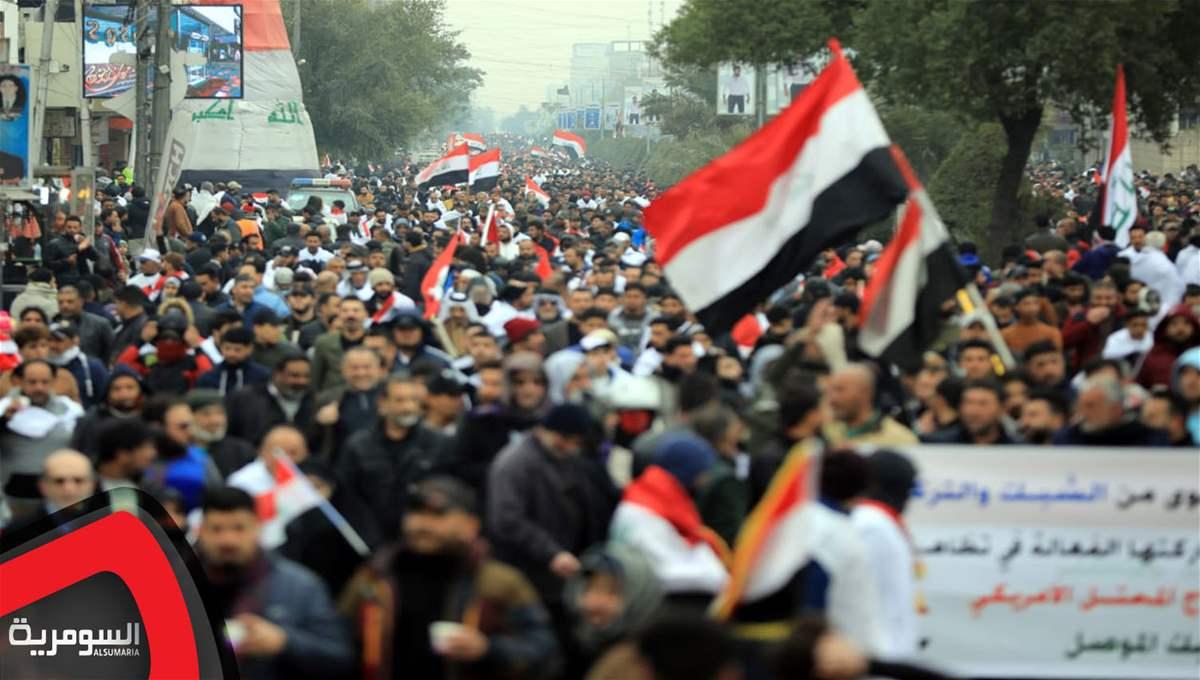 متن و حاشیه تظاهرات میلیونی مردم عراق بر ضد حضور نیروهای آمریکایی