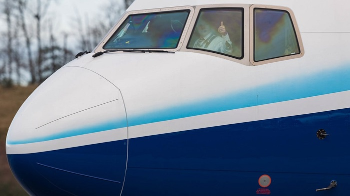 (عکس) پرچم دار جدید هواپیماهای مسافر بری بوئینگ به پرواز در آمد