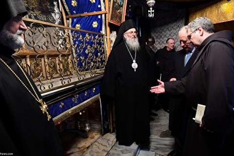 (تصاویر) حضور شاهزاده چارلز در مسجد و کنیسه