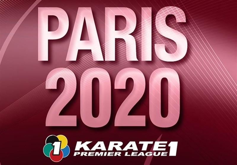 سومی تیم ملی کاراته در پاریس
