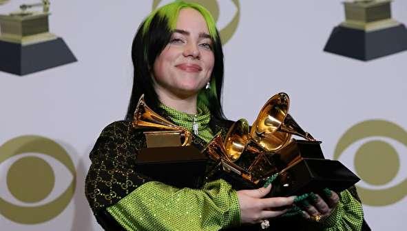 (تصاویر) مراسم اهدای جوایز گرمی ۲۰۲۰