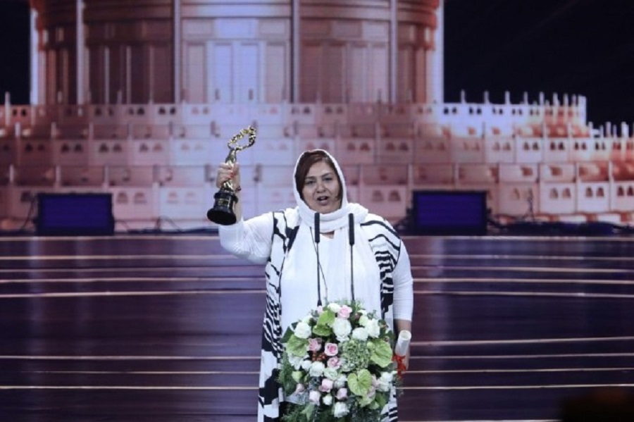 بازیگر ایرانی جایزه بهترین بازیگر زن فیلم پکن را کسب کرد
