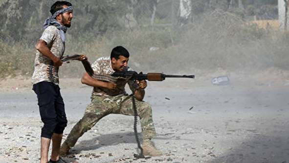 (تصاویر) درگیری مرگبار در طرابلس لیبی