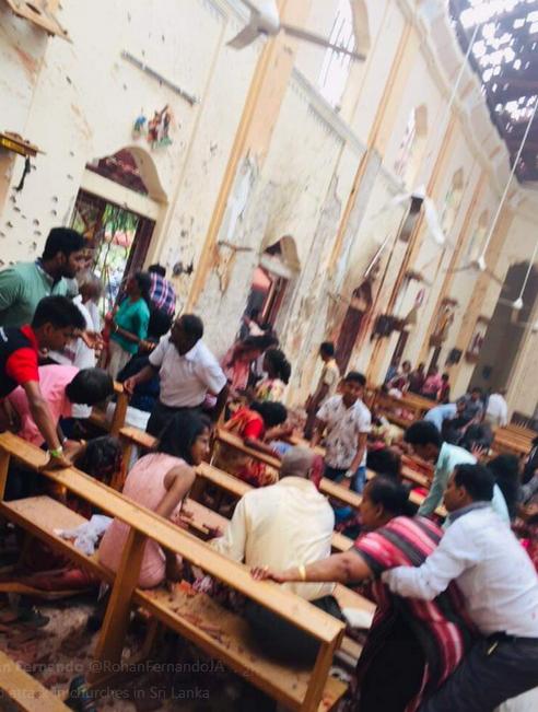 روز خونین سریلانکا با صداها کشته و زخمی