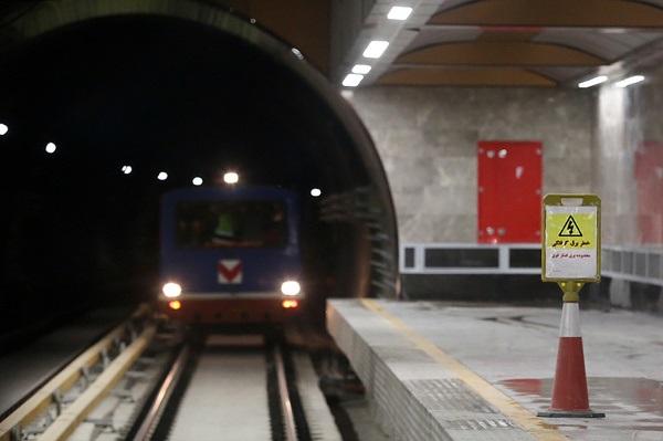 خودکشی در ایستگاه مترو بیمه