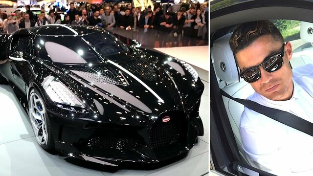 (تصاویر) رونالدو گرانترین خودرو را خرید