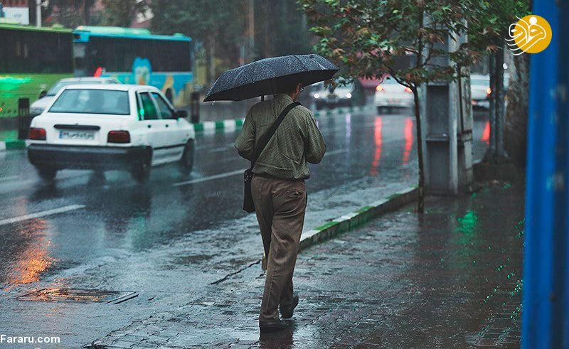 پیشبینی باران ۳ روزه در ۸ استان/ تهران گرمتر میشود