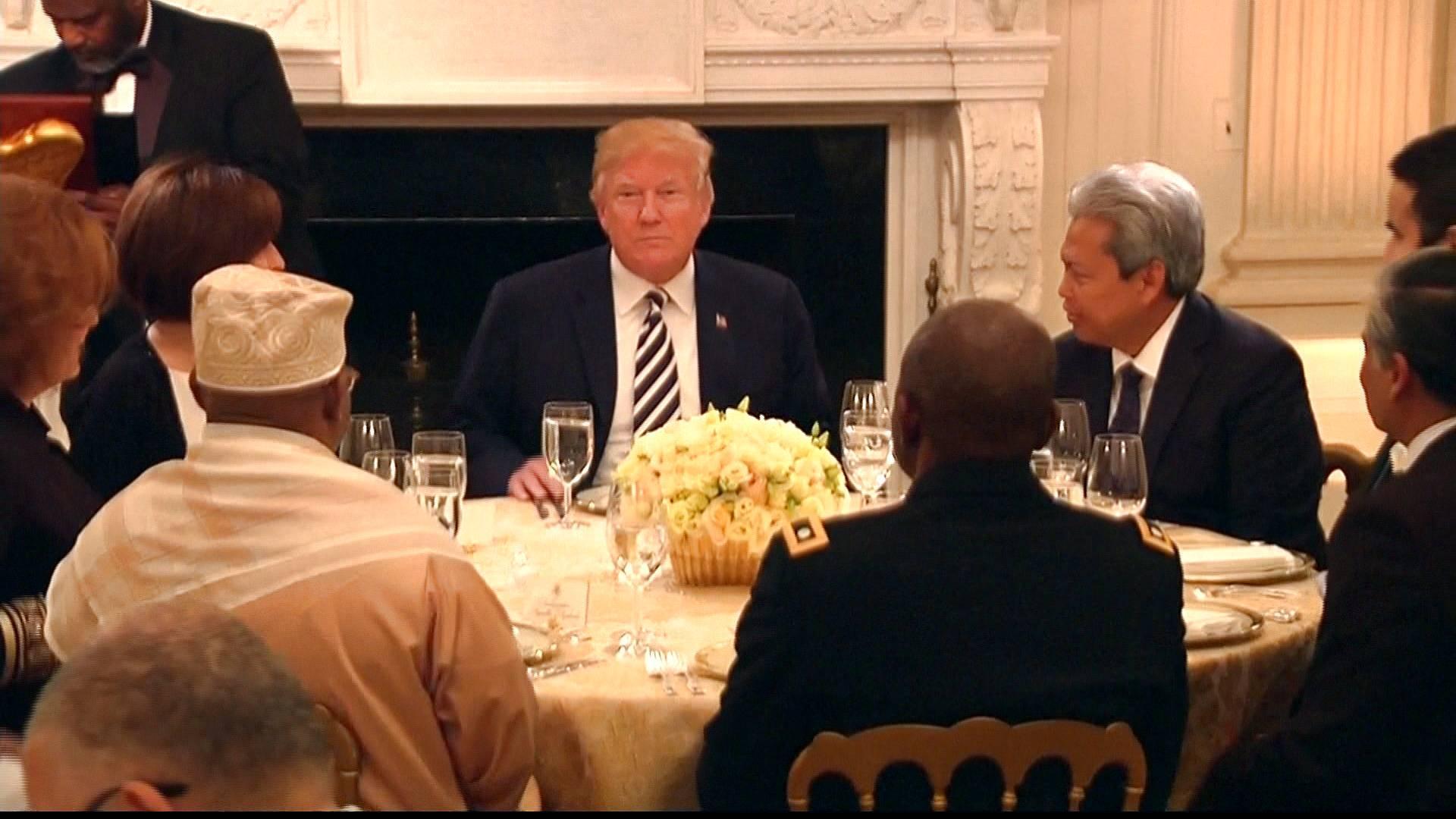 پیام تبریک ترامپ به مناسبت ماه رمضان!