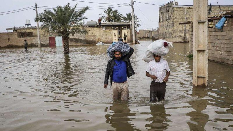 سه روستای حمیدیه همچنان دچار آبگرفتگی هستند