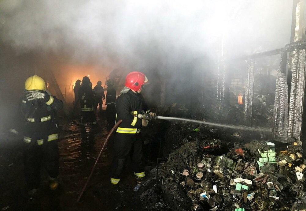 حادثه آتش سوزی بازار تبریز با ۲ کشته و ۲۹ مصدوم؛ ۱۰۰ مغازه در آتش سوخت!