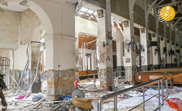 (تصاویر) روز خونین مسیحیان سریلانکا