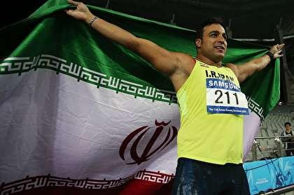 غول ایرانی ششمین قهرمانی قارهای خود را فتح کرد