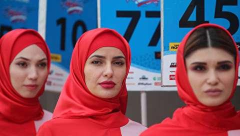 (تصاویر) مسابقات اتومبیلرانی در چچن