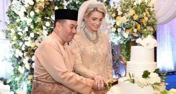 ازدواج ولیعهد مالزی با تبعه سوئدی