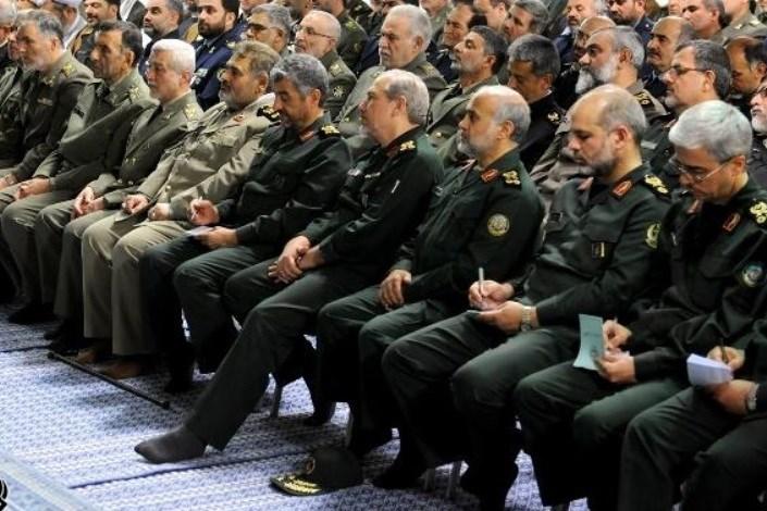 تعداد سرلشکرهای نیروهای مسلح ایران به ۱۴ نفر رسید