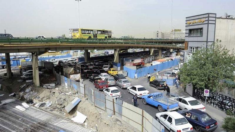 آغاز جمع آوری پل گیشا تهران در چند روز آینده