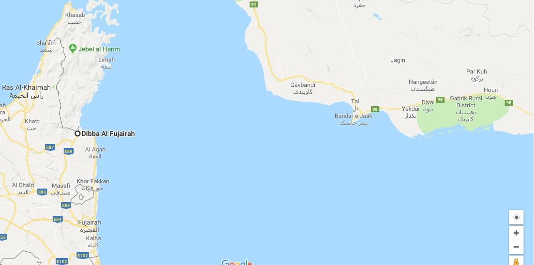 امارات انفجارهای مهیب در بندر فجیره را تایید کرد