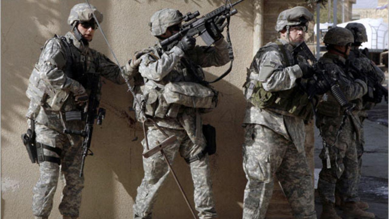 شب کابوسوار نظامیان آمریکایی در عراق
