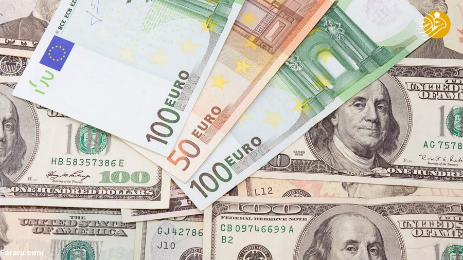 قیمت یورو و قیمت دلار در بازار امروز سهشنبه ۲۴ اردیبهشت ۹۸