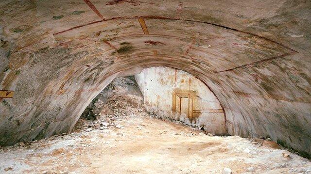 (تصاویر) کشف دالان مخفی قصر امپراتور «نرون» پس از ۲۰۰۰ سال